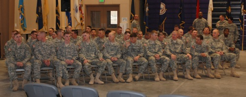 Class 1 of the Warrior Leader Course (WLC)